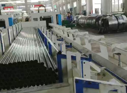 广东纬扬全自动激光切管机视频