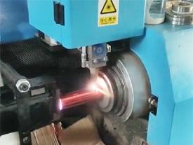 广东纬扬小型激光切管机视频(切铝管)