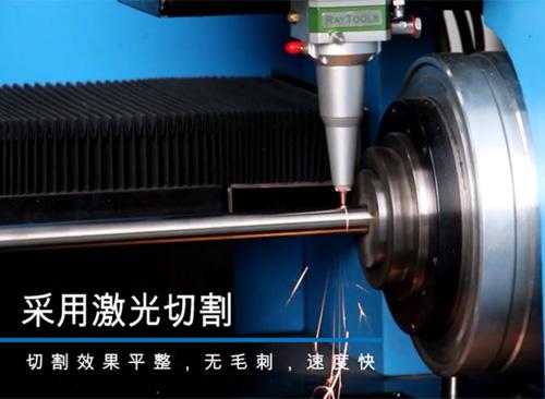 纬扬40小型管材激光切割机视频