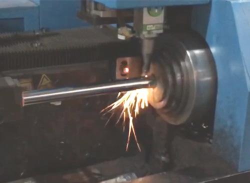 佛山纬扬自动激光割管机视频