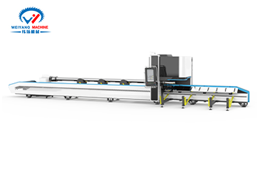 纬扬K35超重型激光切管机视频