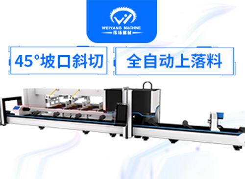 金属管材切割更优秀的解决方案 三维五轴激光切管机