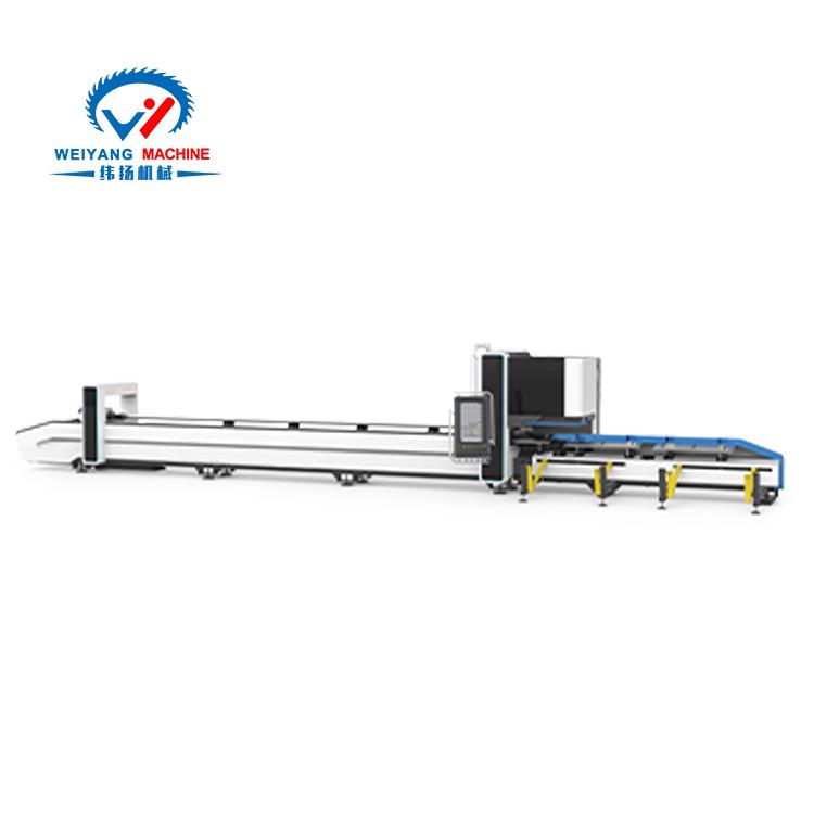 K22三卡盘0尾料激光切管机